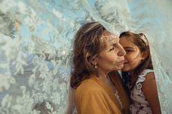 Sesión de fotos con abuelos en Madrid