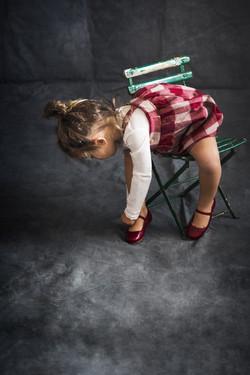Fotografía moda infantil invierno