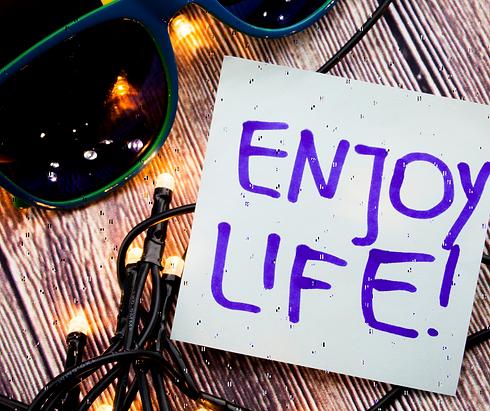 Enjoy Life, Lebensmut, Claudia Brändli
