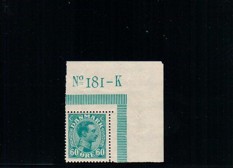 Denmark - Scott #124 - MNH