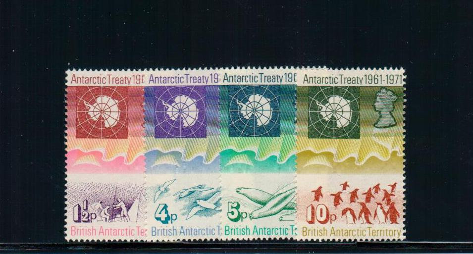 BRITISH ANTARCTIC TERRITORY - Scott # 39-42 - MNH Set
