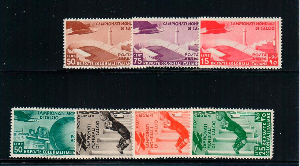 ITALIAN COLONIES (Gen. Issues) - Scott # C29-35 - MLH