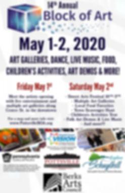 Blocl of Art 2020 Pottsville PA