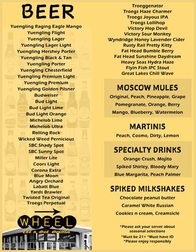 Craft beers, milkshakes, and more @ WHEEL in Pottsville, PA!!!.jpg