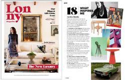 Lonny Magazine, December 2013.