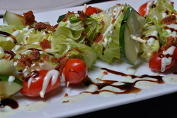 Wedge Salad Skewers