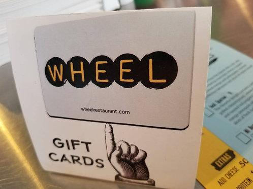 $100 WHEEL Gift Card