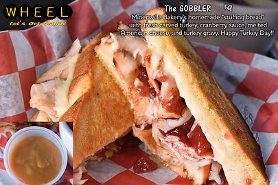 The Gobbler Grilled Cheese