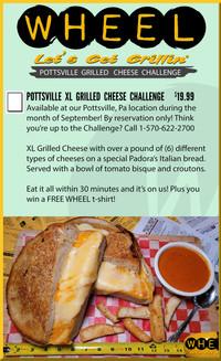 Pottsville XL Grilled Cheese Challenge!