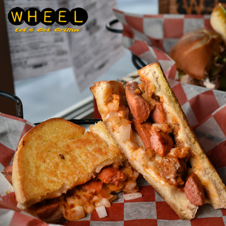 Chili Dawg Grilled Cheese