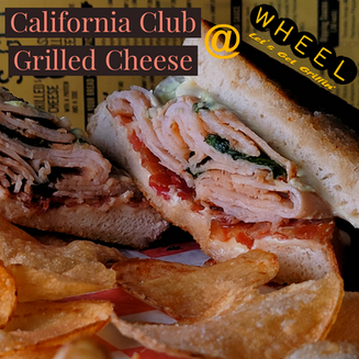 Cali Club Grilled Cheese