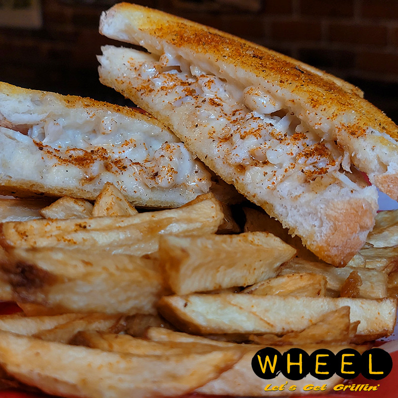 Crab Griller Grilled Cheese