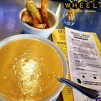 Seafood Bisque at WHEEL in Pottsville, PA