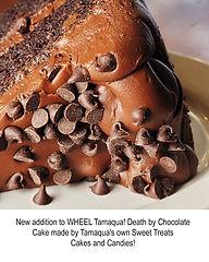 Chocolate Death Cake @ WHEElL in Tamaqua, PA