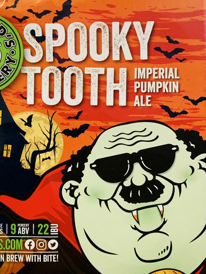 Fat Head's Spooky Tooth cans available at WHEEL in Tamaqua, Pa!