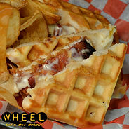 Chicken Waffles Grilled Cheese