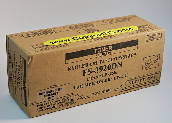 Kyocera Mita TK-352 New Generic Brand Black Toner Cartridge