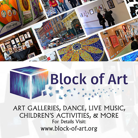 Pottsville Block of Art is a street arts festival that takes place in downtown Pottsville, PA every Spring.
