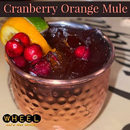 Cranberry Orange Mule