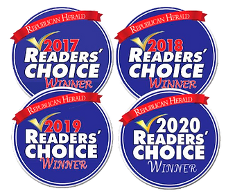 Voted Readers Choice Awards