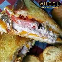 Tuna Melt at WHEEL in Pottsville, Pa