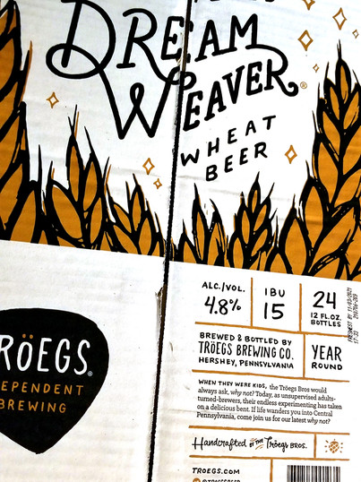 Troegs bottles are available at WHEEL in Tamaqua, PA