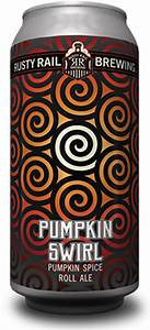 Rusty Rail Pumpkin Swirl cans available at WHEEL in Tamaqua, Pa!