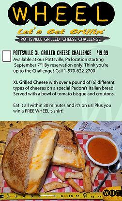 Pottsville XL Grilled Cheese Challenge