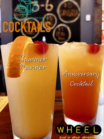 WHEEL Tamaqua Anniversary Drink Specials