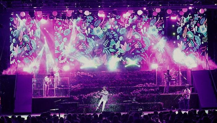 maraveyas concert, μαραβεγιας, συναυλια, θεατρο αλσους, design,stage design