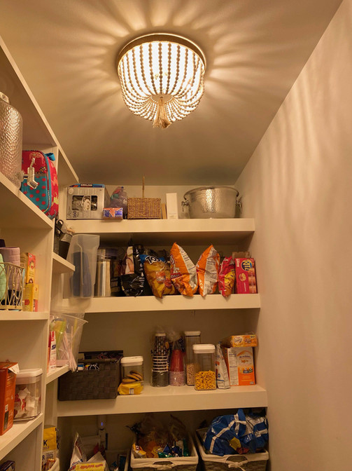 Pantry flush-mount light
