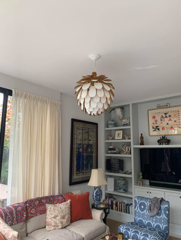 Pendant living room lighting