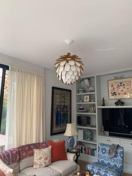 Pendant living room lighting