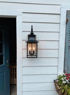 Front door wall lantern