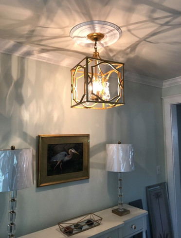 Interior lighting fixture