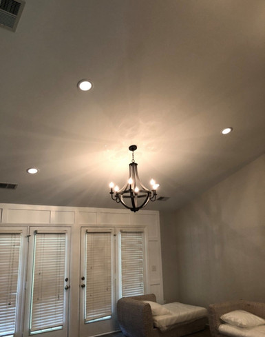 Lighting fixture and recessed lighting