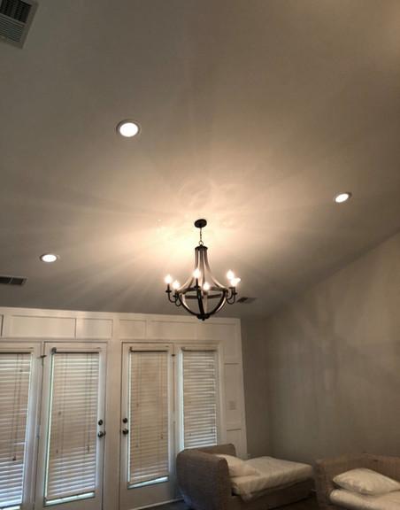 Lighting fixture and recessed lighting