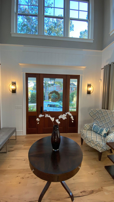 Front door sconce lighting