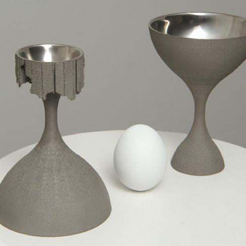 Egg Cup Wine Goblet