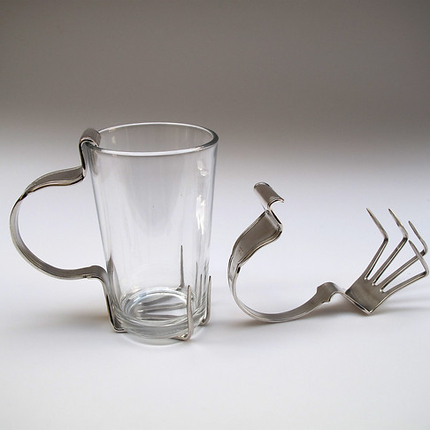 Fork Glass Holder