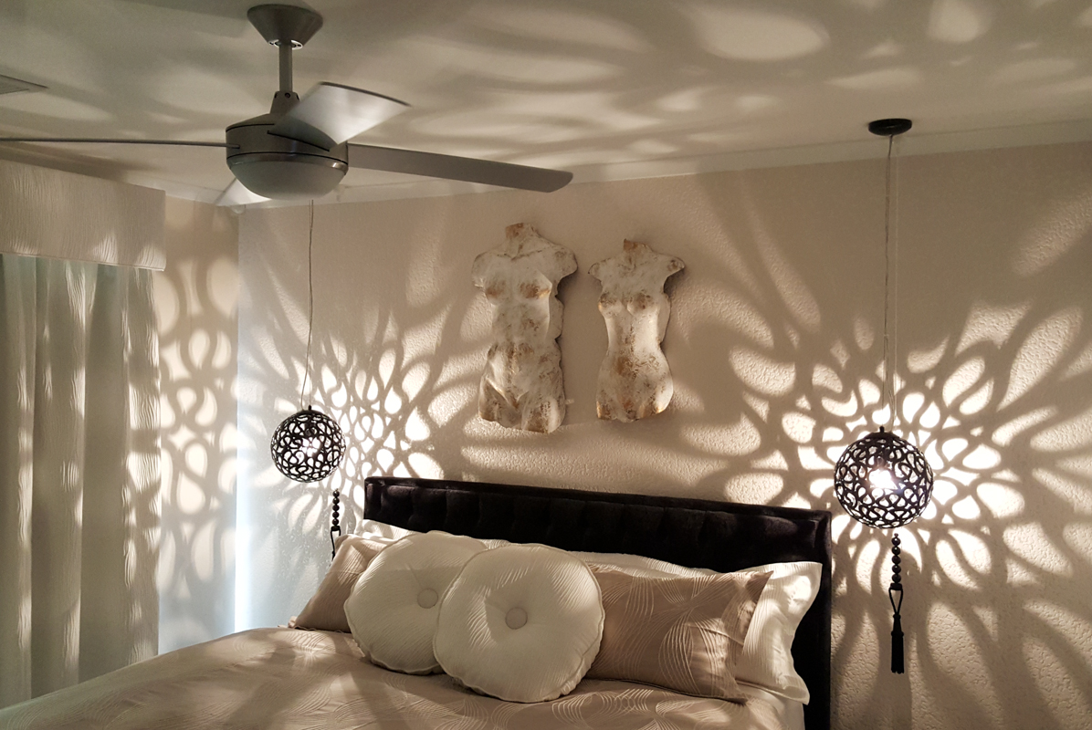 Lighting and ceiling fan install