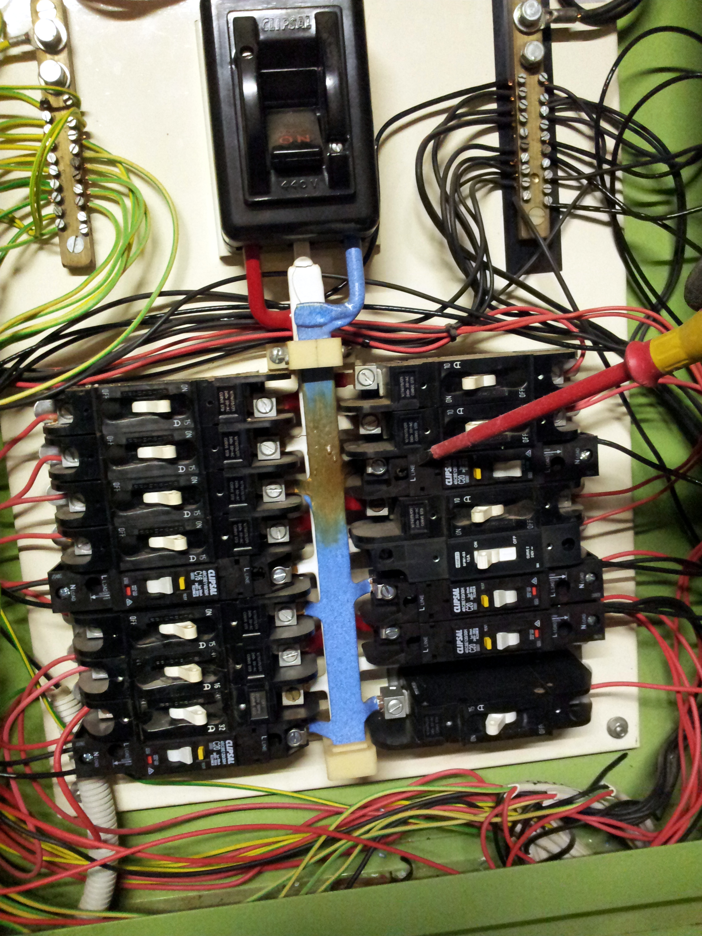 Commercial switchboard work