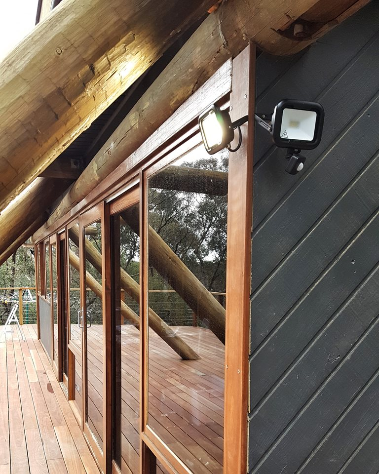 outdoor cabin style LED lights