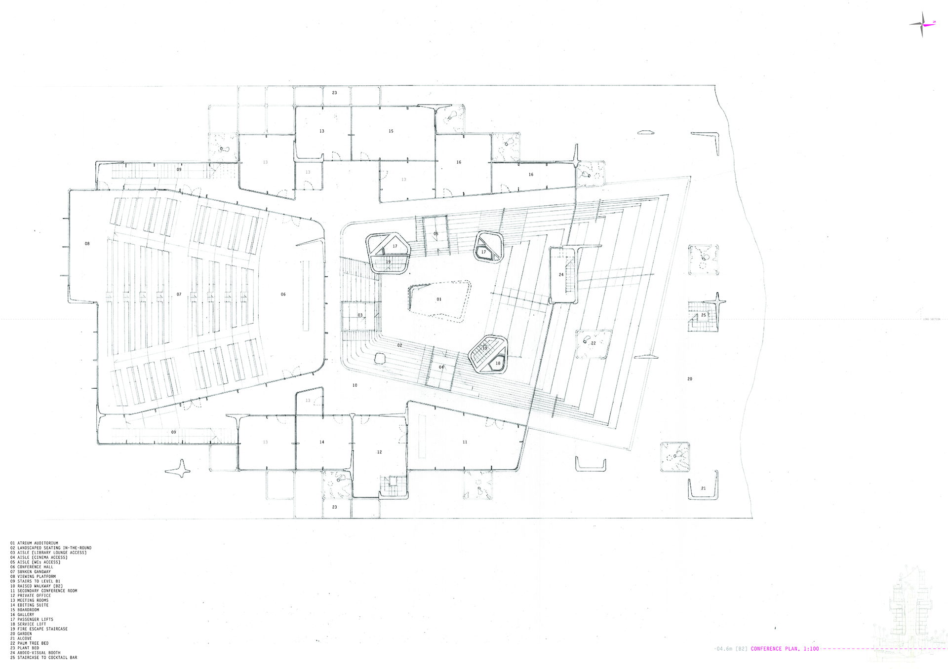 Conference Level Plan