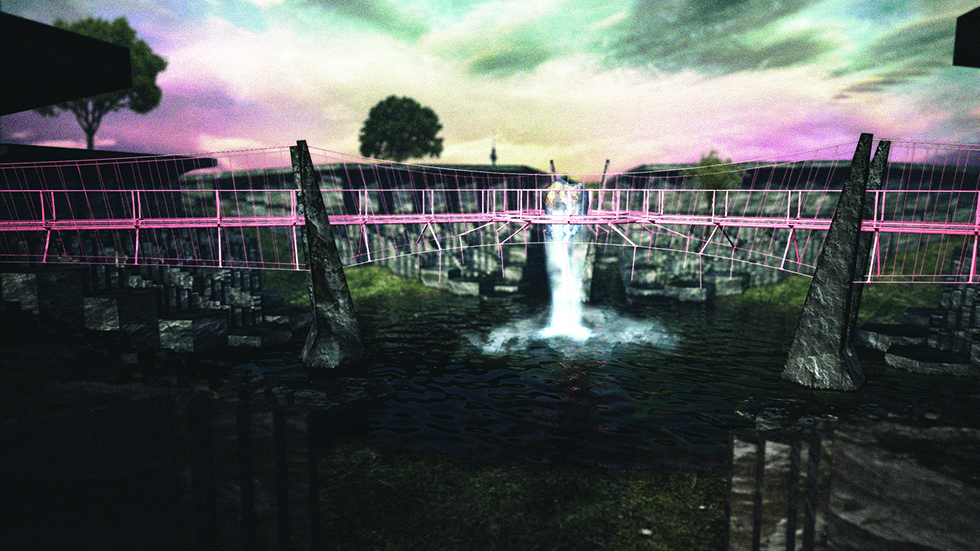 Freshwater Wetland Fountain