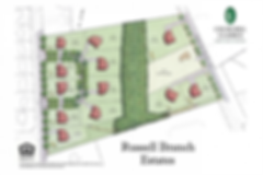 Russell Branch Estates site plan