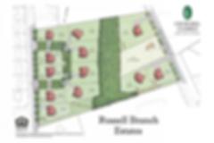 Russell Branch Estates site plan