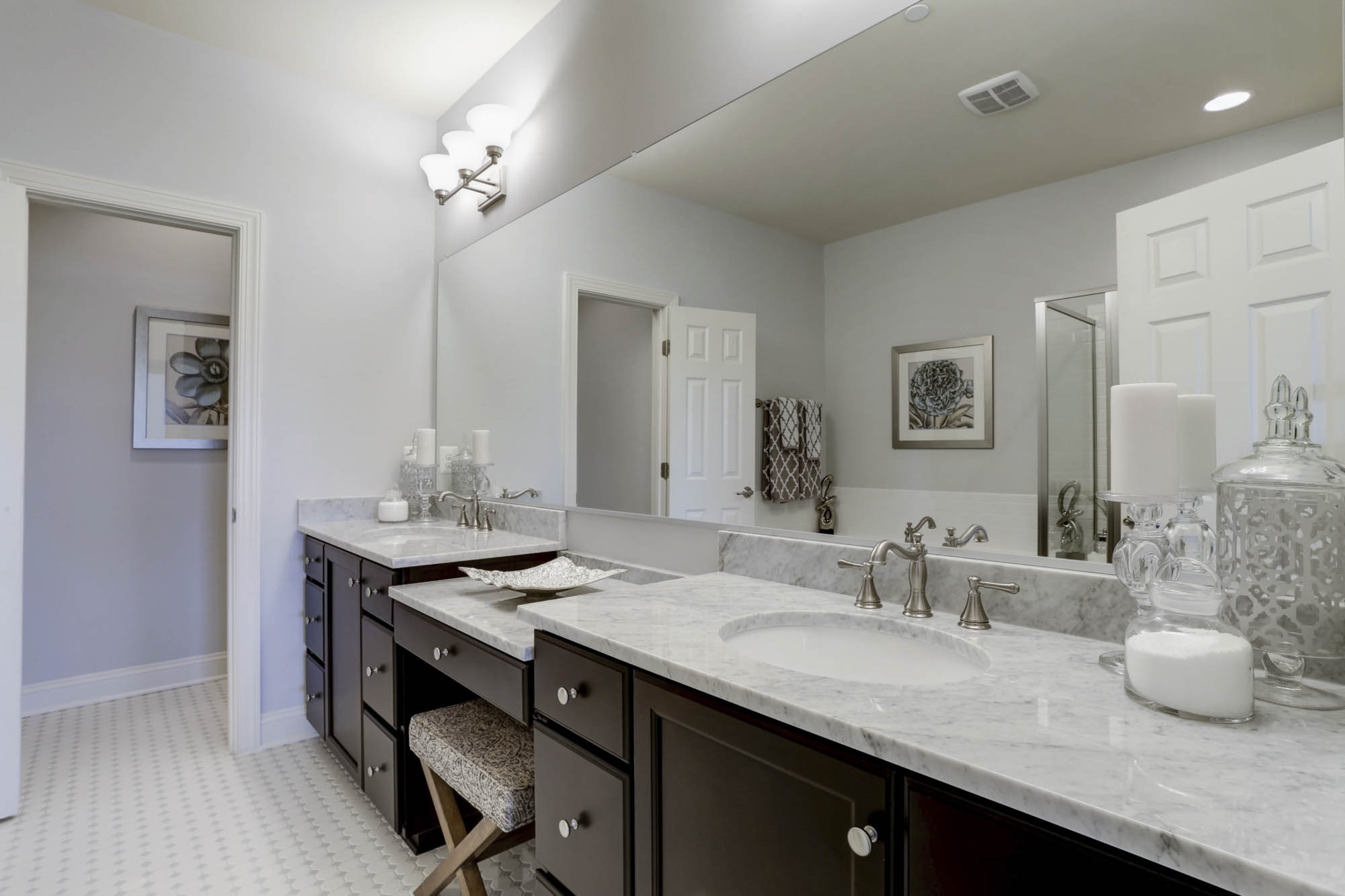 Luxury owners bath new construction