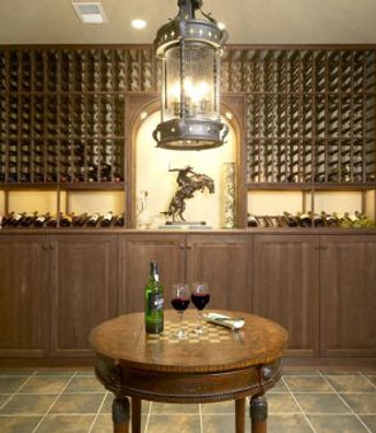 basement wine cellar renovation