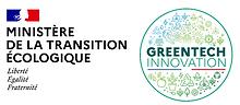 Logo GTIMTE Greentech innovation Ministère de la transition écologique